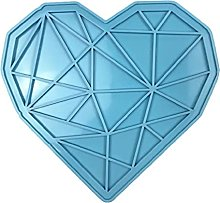 GHBOTTOM - Vassoio a forma di cuore, in resina