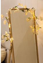 Ghirlanda decorativa LED (1,80 m) Flory Bianco