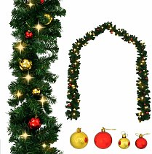 Immagini Di Ghirlande Di Natale.Ghirlanda Con Palline Di Natale Confronta Prezzi E Offerte E Risparmia Fino Al 50 Lionshome