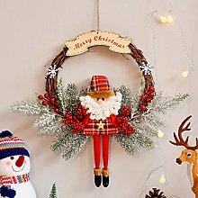 Ghirlanda di Natale, decorazione natalizia da