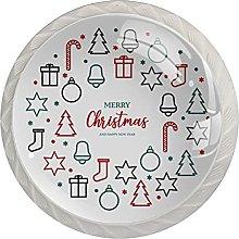 Ghirlanda regalo di Natale 01 4 pezzi armadio