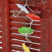 Ghirlanda solare 10 decorazioni Warm White Umbrella