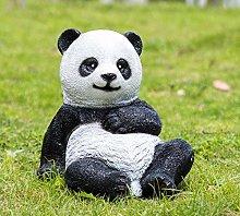 Giardino all'aperto Panda Ornamento Giardino