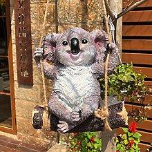 Giardino da esterno Ornamento di koala Resina