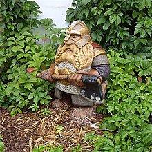 Giardino Decorazioni,Dwarf Statua Esterna Resina