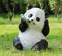 Giardino esterno Panda Ornamento Centro