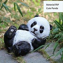 Giardino esterno Panda Ornamento Simulazione