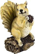 Giardino piccolo scoiattolo statua decorazione
