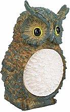 Giardino Solare luci Owl Scultura Statua Modello