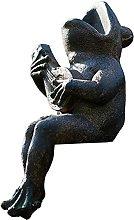 Giardino Statua Rana Scultura All'aperto