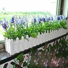 Giardino Vaso per fiori con fioriera in legno