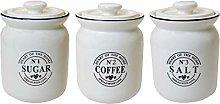 GICOS 1 Pezzo Barattolo in Ceramica 12 x 17cm Home