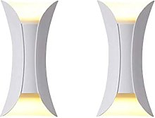 GIOAMH Lampada da parete moderna Illuminazione