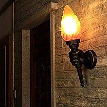 GIOAMH Lampada da soppalco, lampada da parete a