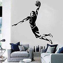 Giocatore di basket Adesivo in vinile Ragazzo