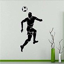 Giocatore Di Calcio Adesivo Murale Giocatore Di