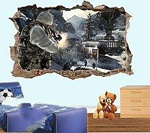 Gioco Azione Adesivo Murale Art Poster Stanza