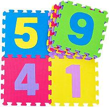 Giordanoshop - Tappeto Puzzle Per Bambini Con