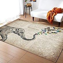 Giornale elefante tappeti per soggiorno camera dei