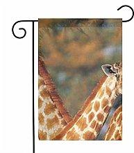 Giraffa Giardino Bandiere Casa Decorazioni per