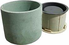 GJCrafts Stampo in silicone per piante, Stampo per