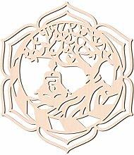 GLOBLELAND 31 CM Buddha Albero della Vita Parete