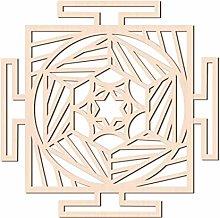 GLOBLELAND 31 CM Geometria Quadrata Sacra Arte