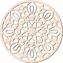 GLOBLELAND 31 CM Geometria Sacra Arte della Parete