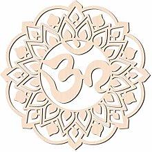 GLOBLELAND 31 CM Om Aum Sanscrito Mantra