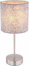 Globo - Scrivania lampada da tavolo luce nichel