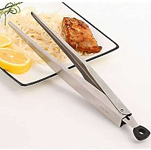 Gmasuber - Pinze per barbecue da cucina in acciaio
