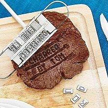Gmasuber - Stampo per barbecue in ferro, con