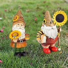 Gnomo del giorno delle api, gnomi da giardino,