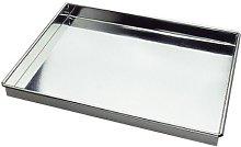 Gobel 125110 - Teglia con Bordo, in Ferro, Bianco