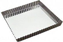 Gobel 126710 - Stampo per Torte Quadrato con Fondo