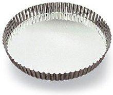 Gobel - Teglia per torte, scanalata, in metallo,