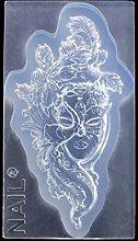 Goddess - Ciondolo a forma di ballerina, in resina