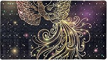 Golden Fire Phoenix, tappetino antiscivolo per