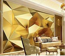 Golden Geometrico Poligono 3D Stereo Europeo TV