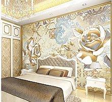 Golden Rose Flower Damasco TV sfondo