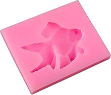 Goldfish Design Design Design Stampo, Silicone Gum