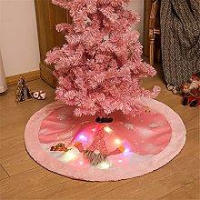 Gonna albero ornamento likense, glitter gnome