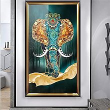 Grande 5D Diamond Painting by Number Kit Elefante