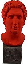 Grande Alexander scultura il grande re macedone