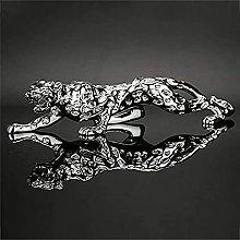 Grande Polyresina Statua Del Leopardo,Moderno