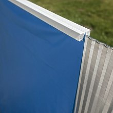 GRÉ - Liner Gre azzurro per piscina ovale da