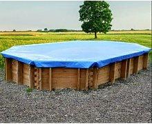 GRÉ - Telo di copertura invernale piscina ovale