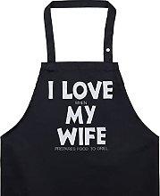Grembiule da cucina da uomo divertente con scritta