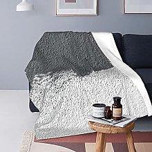 Grey Background Basics Coperta in peluche fuzzy