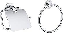 Grohe Porta Rotolo Essentials Cromo 40367001,